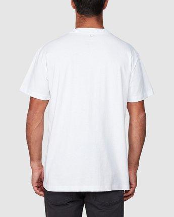 3 Mushie Mush Short Sleeve Tee  R107055 RVCA