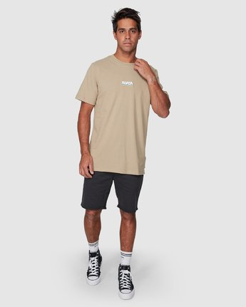 5 Attacker Short Sleeve Tee  R107056 RVCA