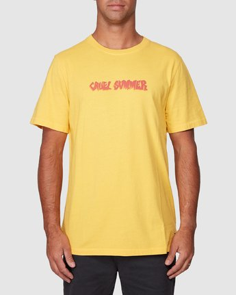 1 Cruel Summer Short Sleeve Tee  R107064 RVCA