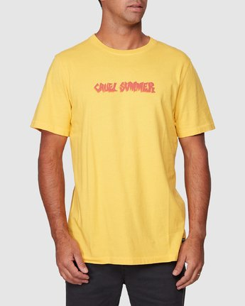 0 Cruel Summer Short Sleeve Tee  R107064 RVCA