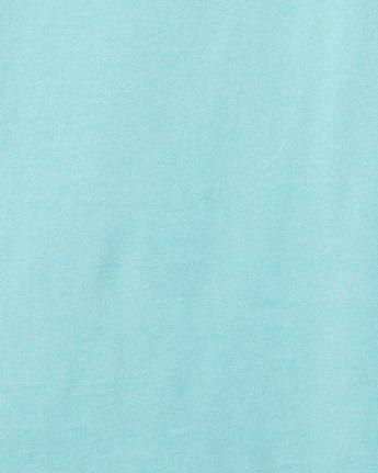 4 DMOTE Aloha Short Sleeve Tee Blue R107065 RVCA
