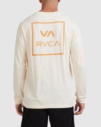 2 VA All The Ways Long Sleeve Tee White R107091 RVCA