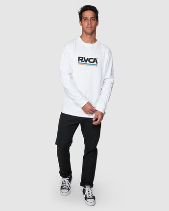 5 Attacker Long Sleeve Tee  R107093 RVCA
