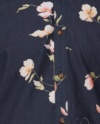 4 Lazarus Long Sleeve Shirt Black R107182 RVCA