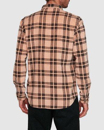1 Villains Plaid Long Sleeve Shirt  R107183 RVCA
