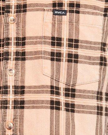 2 Villains Plaid Long Sleeve Shirt  R107183 RVCA