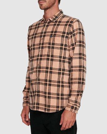 0 Villains Plaid Long Sleeve Shirt  R107183 RVCA