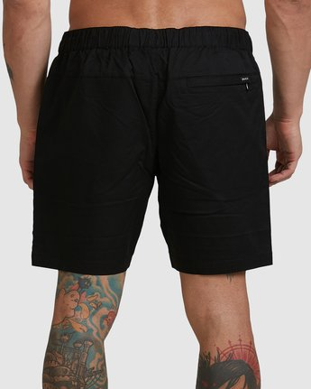 4 SPECTRUM SHORTS Black R107311 RVCA
