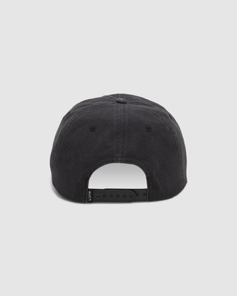 2 Attacker Snapback Cap Black R107565 RVCA