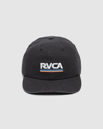 1 Attacker Snapback Cap Black R107565 RVCA