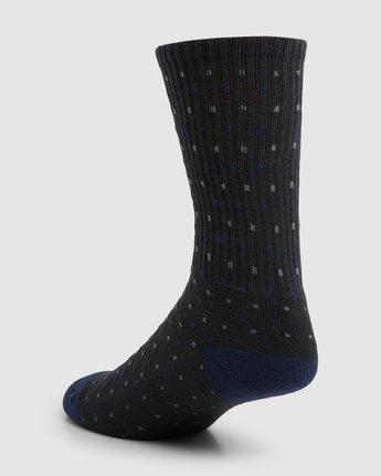 5 RVCA Multi Sock - 4 Pack  R107601 RVCA