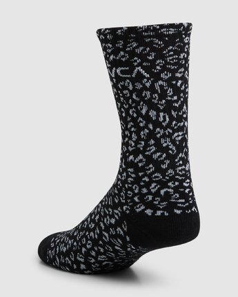 7 RVCA Multi Sock - 4 Pack  R107601 RVCA