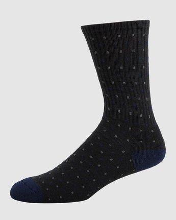 1 RVCA Multi Sock - 4 Pack  R107601 RVCA