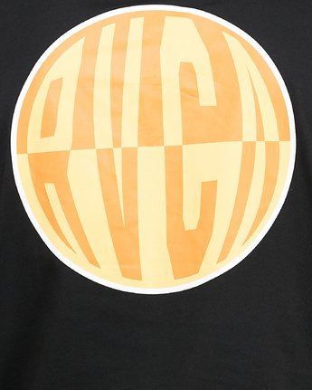 5 Rave Ball Short Sleeve Tee Black R108046 RVCA