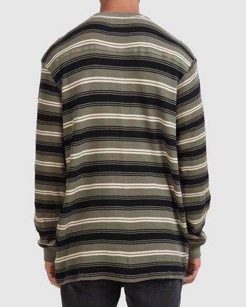 2 Sequel Long Sleeve Tee  R108091 RVCA