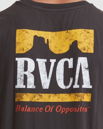 3 PACKETS MUSCLE Black R117001 RVCA