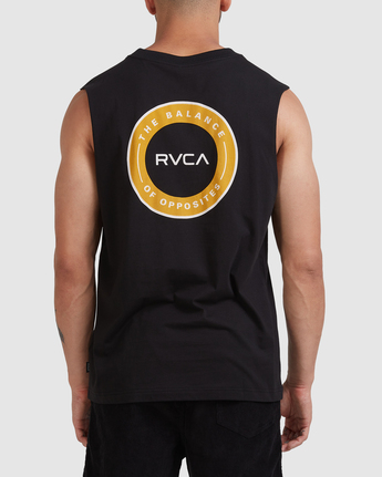 RVCA CENTERS MUSCLE  R117005