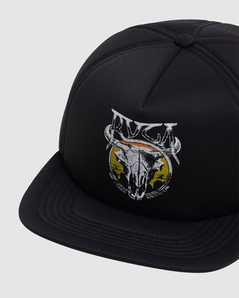 4 DEATH VALLEY FOAM SNAPBACK  R117562 RVCA
