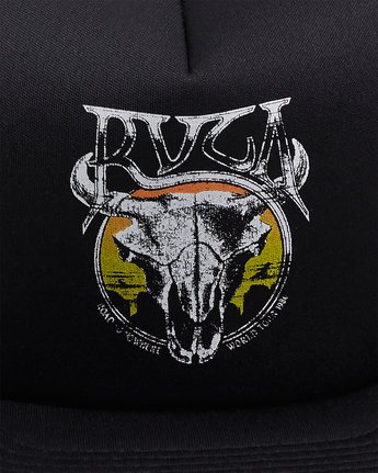 5 DEATH VALLEY FOAM SNAPBACK  R117562 RVCA