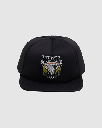 2 DEATH VALLEY FOAM SNAPBACK  R117562 RVCA