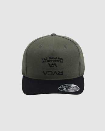 2 BEND IT PINCHED TRUCKER 6 PACK Brown R117564 RVCA