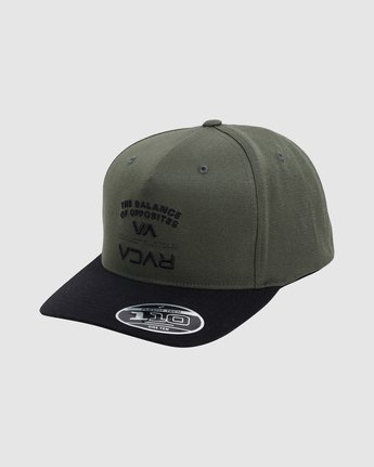 0 BEND IT PINCHED TRUCKER 6 PACK Brown R117564 RVCA