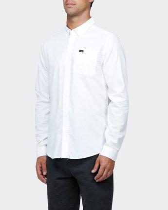 1 That'Ll Do Long Sleeve  Shirt  R141216 RVCA