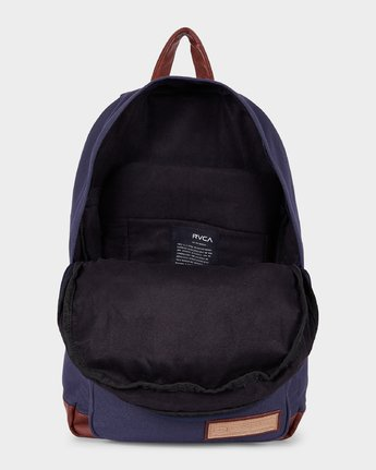 3 Schooled Backpack Blue R143453 RVCA