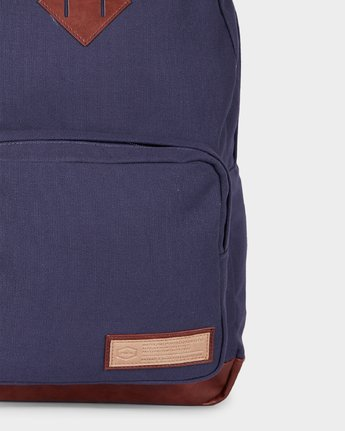 4 Schooled Backpack Blue R143453 RVCA