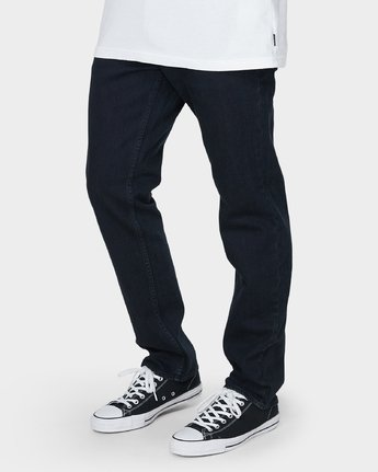 3 Daggers Denim Pants Blue R153232 RVCA