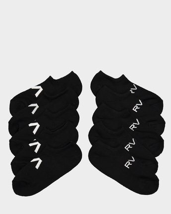 0 Transfer Sock IIl Black R162602 RVCA