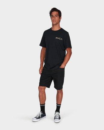 3 Little RVCA T-Shirt Black R172060 RVCA