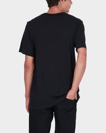 2 Little RVCA T-Shirt Black R172060 RVCA