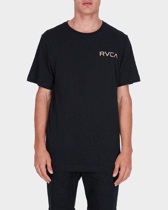 0 Little RVCA T-Shirt Black R172060 RVCA
