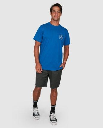 5 Va All The Ways Short Sleeve Tee Blue R172062 RVCA