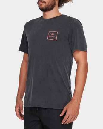 1 VA All The Ways Tee Black R172062 RVCA