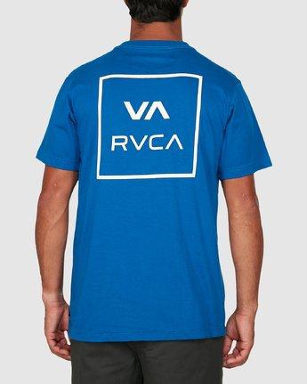 2 Va All The Ways Short Sleeve Tee Blue R172062 RVCA