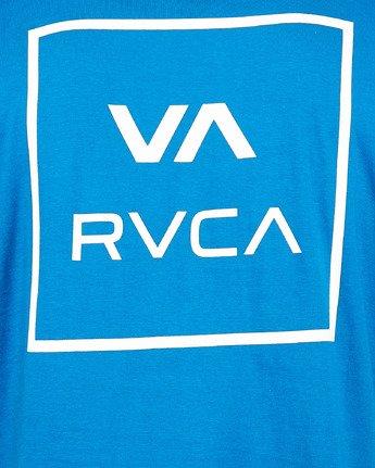 4 Va All The Ways Short Sleeve Tee Blue R172062 RVCA