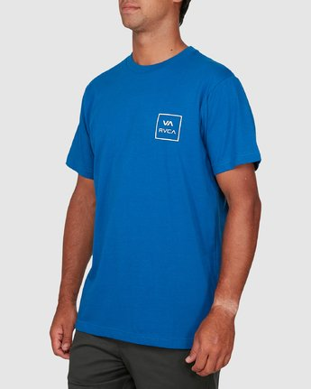 1 Va All The Ways Short Sleeve Tee Blue R172062 RVCA