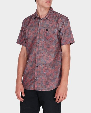 1 Marbles Floral Cord Short Sleeve  R172189 RVCA