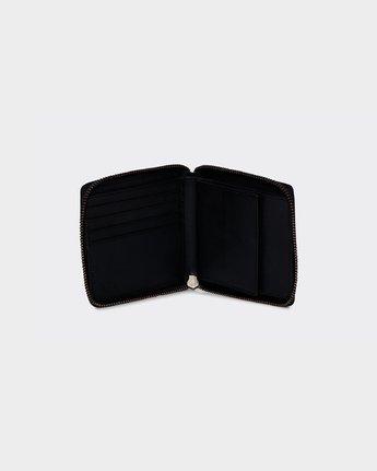 2 RVCA Executive Zip Wallet  R172603 RVCA