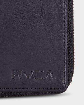4 RVCA Executive Zip Wallet  R172603 RVCA