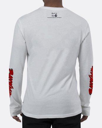 1 BAYWASH COLA LS T White R173115 RVCA