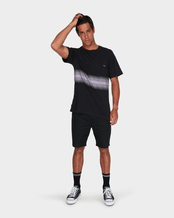 3 Sin Fade T-Shirt  R181050 RVCA
