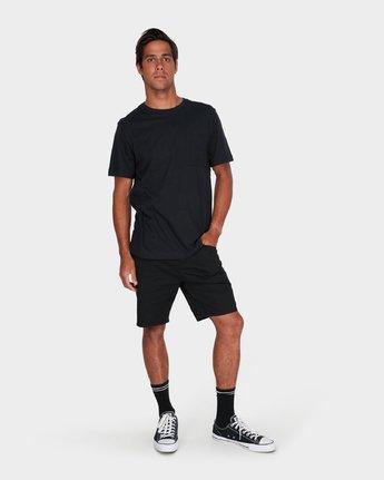 3 Benj True Stories T-Shirt  R181060 RVCA