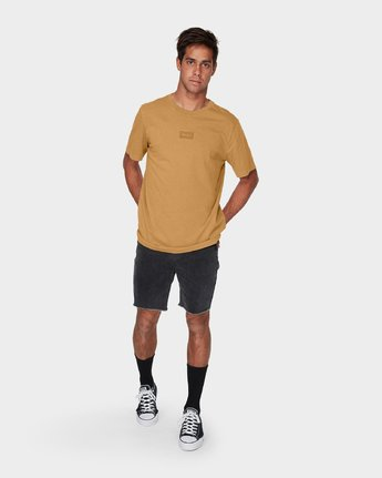 3 RVCA Focus T-Shirt Green R181061 RVCA