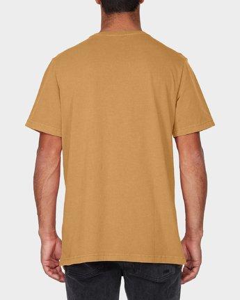 2 RVCA Focus T-Shirt Green R181061 RVCA