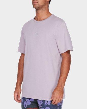 1 Pyramid T-Shirt Grey R181062 RVCA