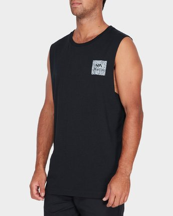 1 Va All The Ways Multi Muscle Black R182010 RVCA