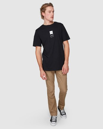 4 Va RVCA Short Sleeve T-Shirt  R182056 RVCA